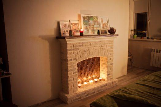 Украшаем дом к новому году | Фальш-камин своими руками