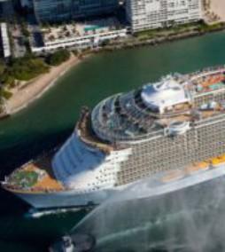 Самый большой корабль в мире | видео Allure of the Seas