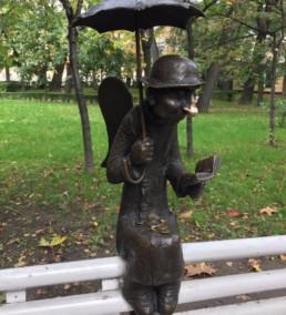 Скульптура, как символ памяти — Петербургский ангел