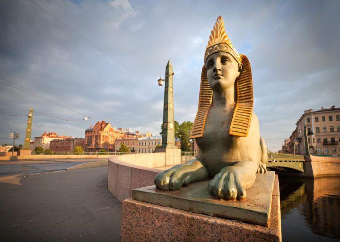 египетский мост в питере