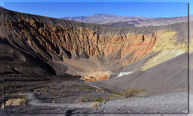 кратеры в долине смерти