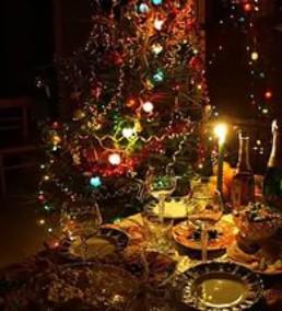 Селедка под шубой «Новогодние свечи» — рецепт.
