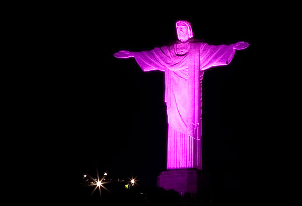 Статуя Иисуса в Бразилии