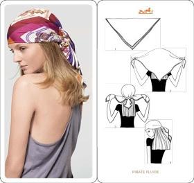 платок-косынка на голову