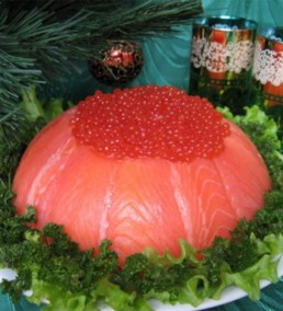 Новогодний салат-торт