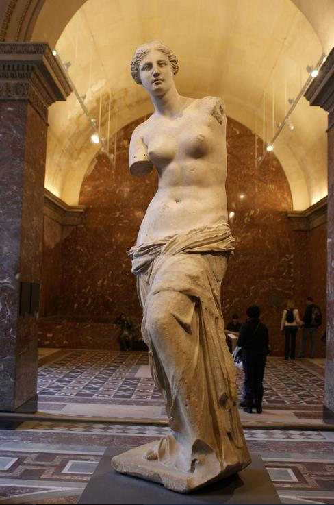 Статуя Венеры в Лувре