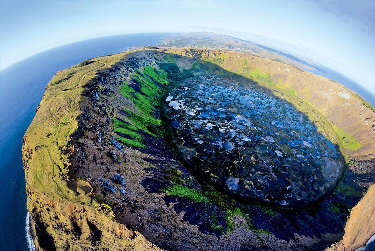 Потухшие вулканы острова Пасхи
